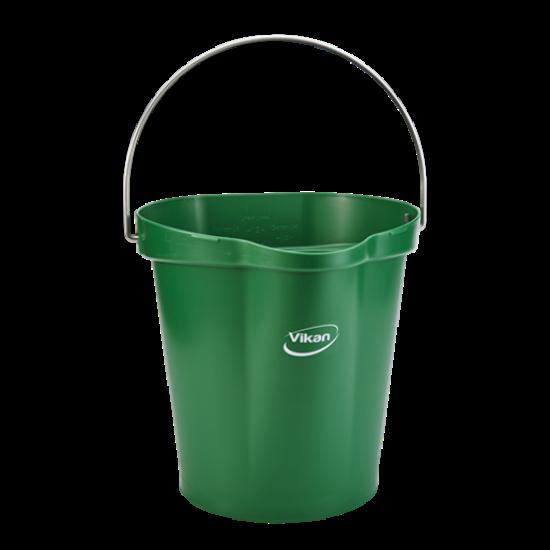 Vikan Vödör 12 literes zöld