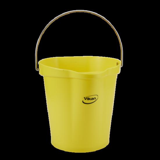 Vikan Vödör 12 literes sárga