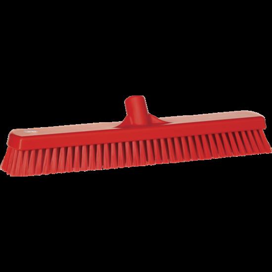 Vikan Padlósúroló kefe 470 mm piros