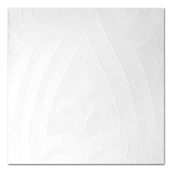Duni Elegance Lily szalvéta fehér 48x48cm 6x40db/gyűjtő