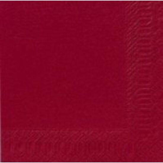 Duni szalvéta bordó 3rtg 40x40cm 8x125db/gyűjtő