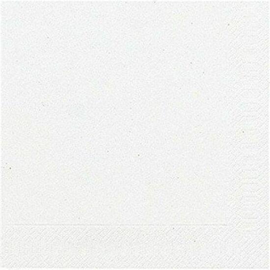 Duni szalvéta fehér 3rtg 33x33cm 12x20db/gyűjtő