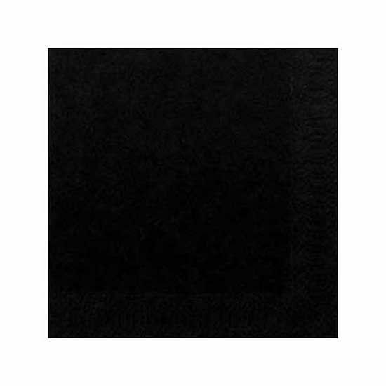 Duni szalvéta fekete 3rtg 33x33cm 4x250db/gyűjtő