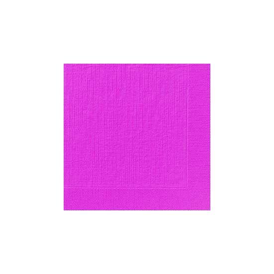 Duni szalvéta Fuchsia 4rtg 40x40cm 6x50db/gyűjtő