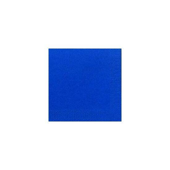 Duni szalvéta Dark blue 3rtg 24x24cm 8x250db/gyűjtő