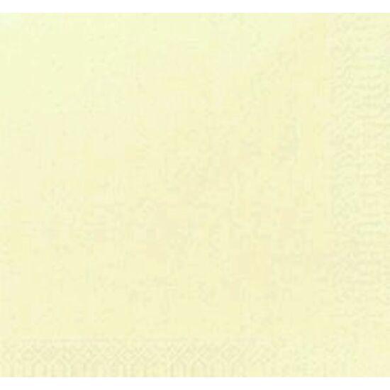 Duni szalvéta krém  3 rétegű 24x24 8x250db/gyűjtő