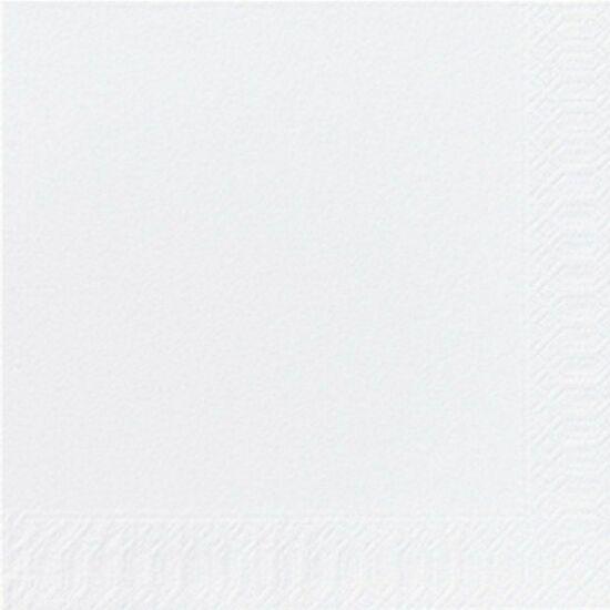 Duni szalvéta fehér 2rtg 33x33cm 16x125db/gyűjtő