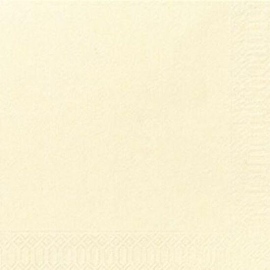 Duni szalvéta krém 3rtg 33x33 4x250db/gyűjtő