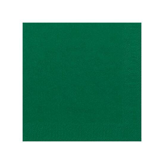 Duni szalvéta Dark green 3 rétegű 33x33 4x250db/gyűjtő