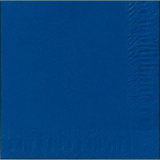 Duni szalvéta Dark blue 3 rétegű 33x33 4x250db/gyűjtő