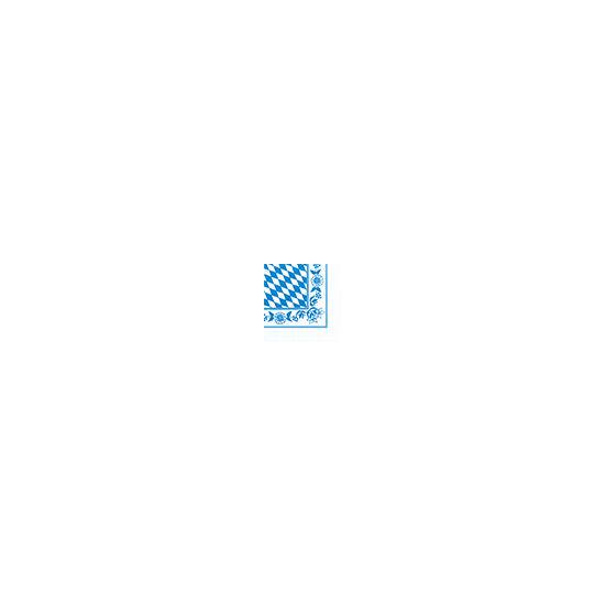 Duni szalvéta Bayrische Raute 3rtg 33x33cm 4x250db/gyűjtő