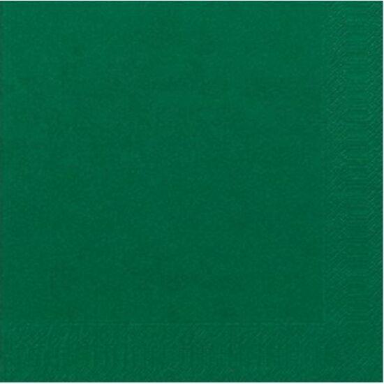 Duni szalvéta Dark green 3rtg 40x40 4x250db/gyűjtő