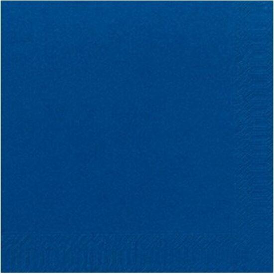 Duni szalvéta Dark blue 3rtg 40x40cm 4x250db/gyűjtő