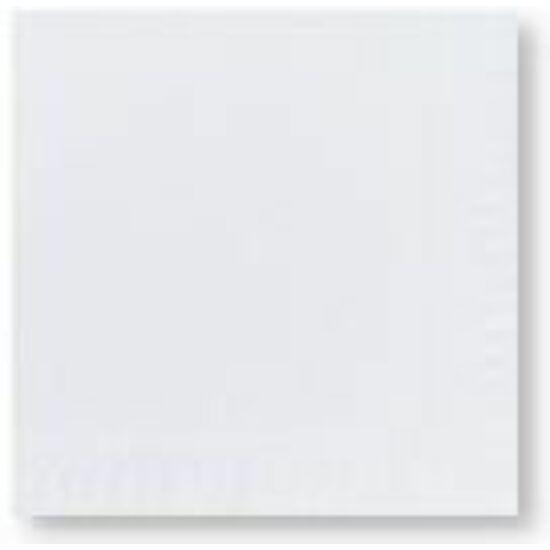 Duni szalvéta fehér 3rtg 33x33cm 8x125db/gyűjtő
