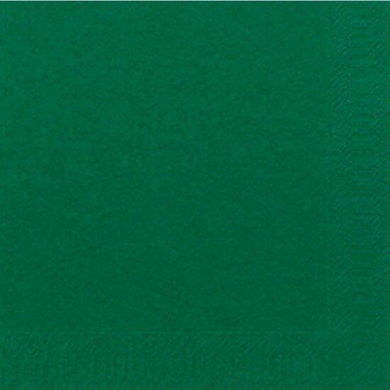 Duni szalvéta Dark green 3rtg 33x33cm 8x125db/gyűjtő