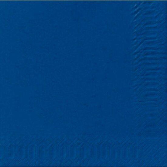 Duni szalvéta Dark blue 3rtg 33x33cm 8x125db/gyűjtő