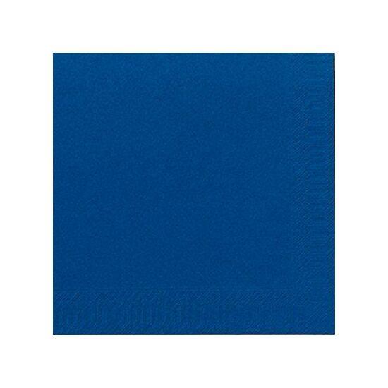 Duni szalvéta Dark blue 3rtg 40x40 8x125db/gyűjtő