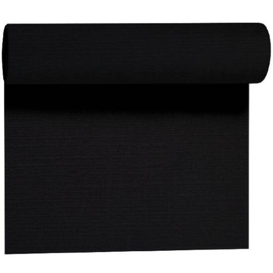Evolin Téte-a-Téte asztali futó fekete 0,41x24m 4tek/gyűjtő