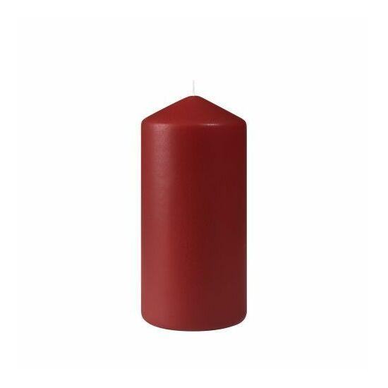 Duni Pillar gyertya matt bordó 150x70mm 2x6db/gyűjtő