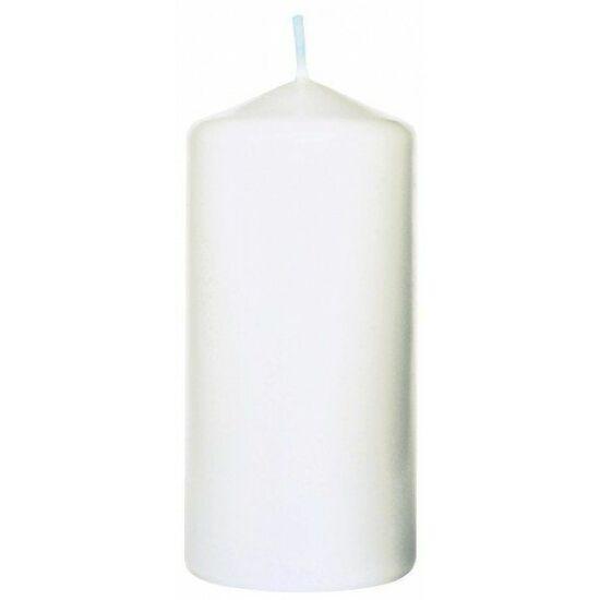 Duni Pillar gyertya fehér 100x50mm 6x10db/gyűjtő