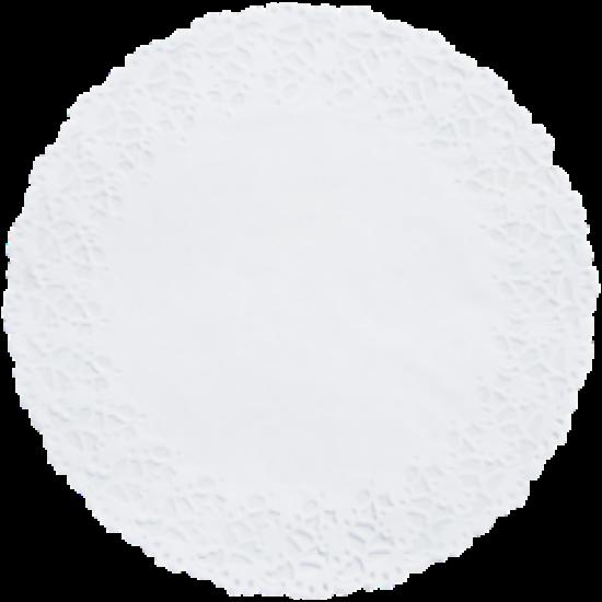 Duni tortacsipke fehér kerek D10 8x250db/gyűjtő