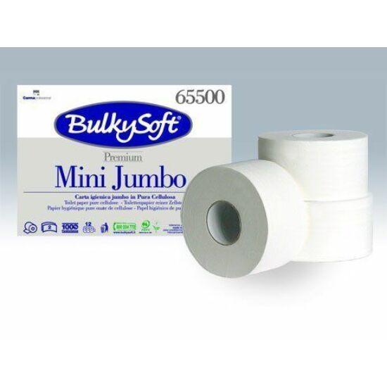 BulkySoft prémium mini jumbo toalettpapír 2rtg M9 D19 145m cell 12tek/gyűjtő