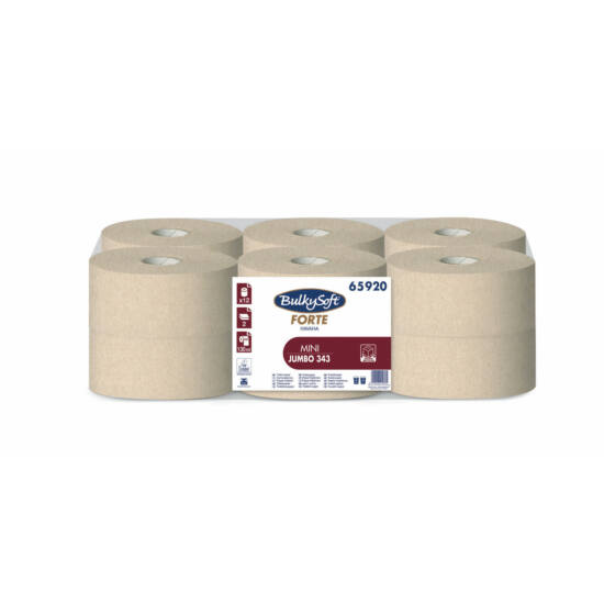 BulkySoft forte havana mini jumbo toalettpapír 2rtg M9 D18 130m 12tek/gyűjtő