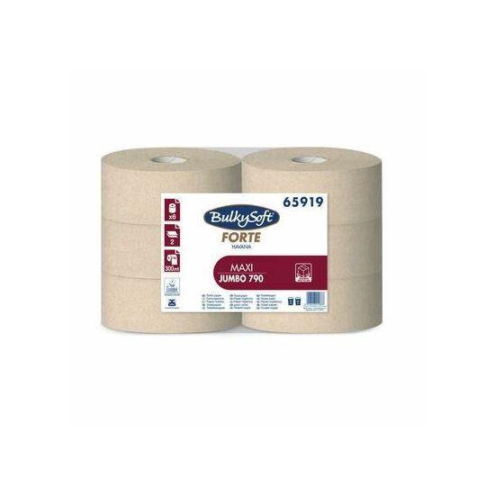 BulkySoft forte havana maxi jumbo toalettpapír 2rtg M9 D25,5 300m 6tek/gyűjtő