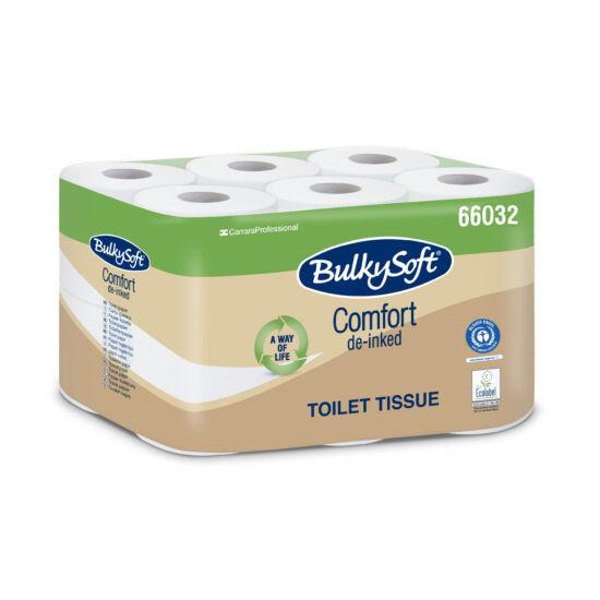 BulkySoft comfort kistekercses toalettpapír 2rtg 210lap 22m fehérített 8x12tek/gyűjtő