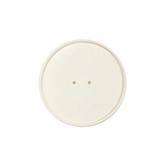 Duni Ecoecho tálka tető Coppa fehér187045-46 tálkához 10x25db/gyűjtő
