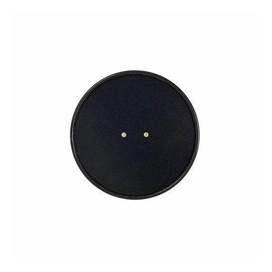 Duni Ecoecho tálka tető Coppa fekete 187045-46 tálkához 10x25db/gyűjtő