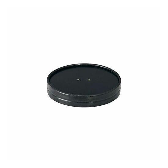 Duni Ecoecho tálka tető Coppa fekete 187047 tálkához 12x21db/gyűjtő