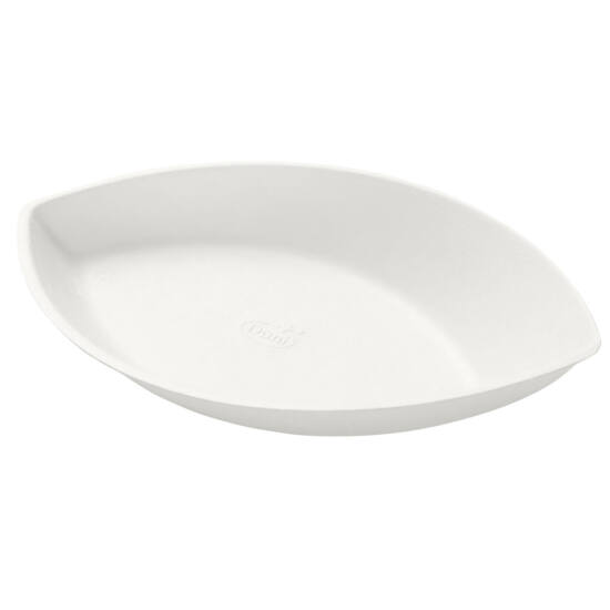 Duni Ecoecho Amuse-bouche tálka bagasse Piatto fehér 140ml 11x35db/gyűjtő