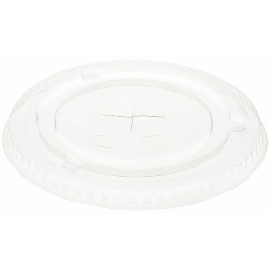 Duni Ecoecho pohár tető szívószálas átlátszó 188001-002 pohárhoz 16x60db/gyűjtő